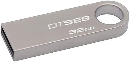Kingston Digital DataTraveler SE9 32GB USB 2.0 Flash Drive (DTSE9H/32GBZ)