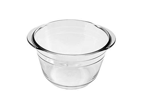 APS Ersatz-Glaseinsatz für Feuerzangebowle, Ersatz-Gefäß für Punschgefäß, Ø 23 cm, für ca. 4 Liter, 23 x 26 cm