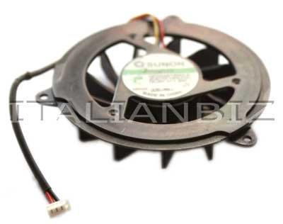 ITALIANBIZ Ventola Fan per PROCESSORE per Notebook Compatibile con HP Pavilion dv5000 DV5100 DV5200 Compatibile con AMD GC055515VH-A