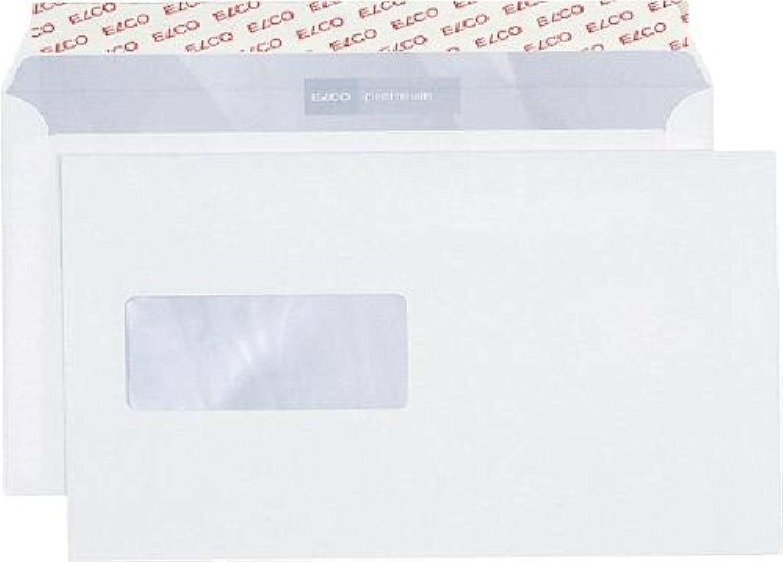 Briefumschlag Office Box mit Deckel - C5, wei, haftklebend, mit Fenster, 80 g qm, 500 Stück