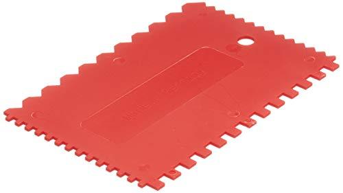 Bonum 5173601 Kunststoff-Zahnspachtel 4-Zahnformen