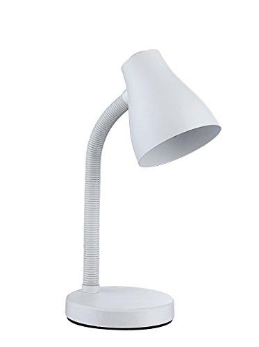 Action Tischleuchte 1-flammig, Reyk, 1x E27 / 15 Watt, 230 Volt, Höhe: 35 cm/Durchmesser 14 cm/m