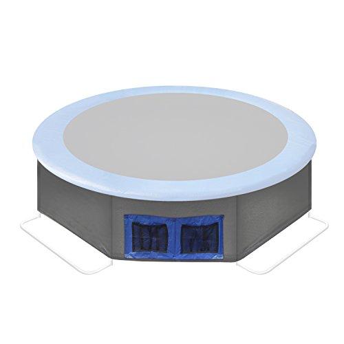 Ultrasport Bodensicherungsnetz/Unternetz für Ultrafit Gartentrampolin Jumper, schwarz, 251 cm, 331300000136