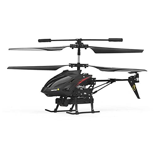 SXLCKJ Helicóptero RC con cámara HD, Helicóptero RC con Gyro Luz LED Radio Control Remoto 3.5 Canales Helicóptero Niño Avión de Juguete Niños (avión Inteligente)