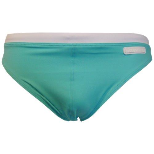 Calvin Klein Underwear - Maillot de bain - Uni - Homme, Turquoise - TÃ1/4rkis (527 BLUE CURACAO), 54