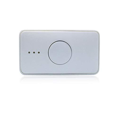 SSSY Localizador De GPS para Perros Gatos, Mini 4G GPS Tracker, Monitor de Actividad de Localizador Inteligente Impermeable Blanco, Carga Magnética, Control de Aplicación
