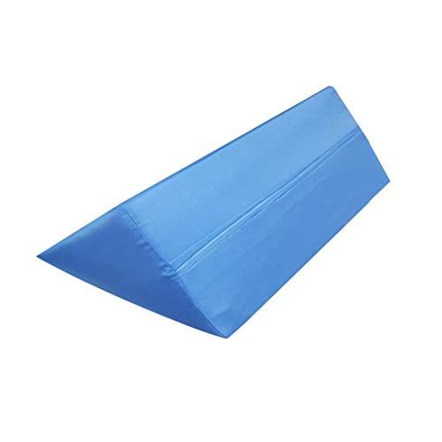 Macabolo Driehoek Kussen Roll Over Mat Rollover Kussen Driehoek Zij-Body Pad Sponge Ondersteuning Kussen voor De Oudere Zwangere Vrouwen (50 * 20 * 20cm)