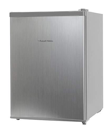 Russell Hobbs RHTTF67SS Puertas reversibles de 66 litros A + Mini refrigerador de sobremesa, plata