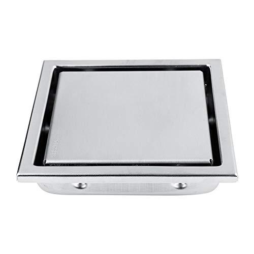 Acero inoxidable Forma cuadrada Anti-olor Piso Resistente Drenaje Puerta de desagüe Ducha Escurridor Hogar Baño Cocina