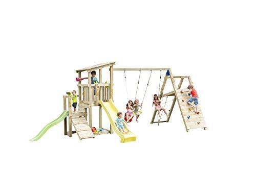 MASGAMES - Box per Bambini a Forma di Torre Cascata con @Challenger