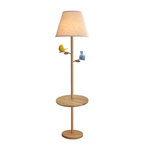 MILUCE Style américain feuille de plancher Birdie lampe de salon canapé table à café lampe sur le sol chambre étude Creative Nordic Floor Lamp