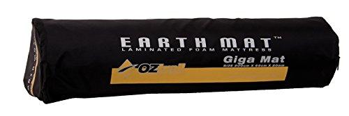 OZtrail - Colchoneta de Espuma de 15mm Earth Mat Giga EMF-EM20-A Esterilla, colchoneta de Camping, para Acampar 200x65x1.5cm 1.1kg, colchón Aislante