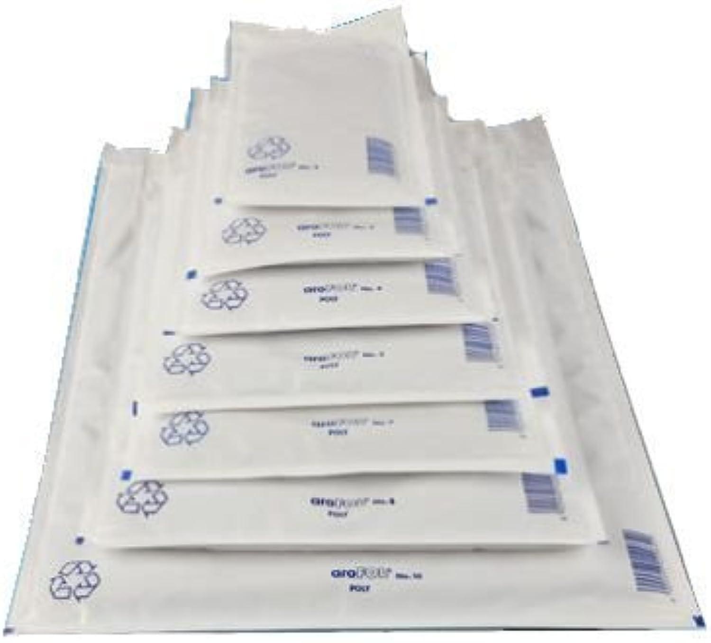 2400 x Luftpolsterversandtasche (Poly) 4   D 180 x 265 mm, Luftpolstertaschen Versandtaschen Umschläge von AroFol B004UF2HXE   Kostengünstig