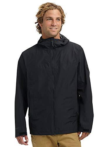 Burton Gore Packrite Waterproof Jacket Medium True Black