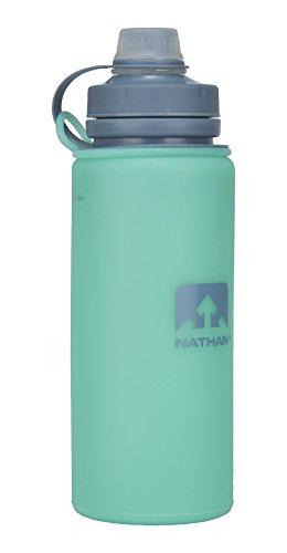 Nathan FlexShot, Bouteille d'eau sans BPA, 750 ml, Mixte, 4326NCT, Vert clair, 24 oz/750 ml