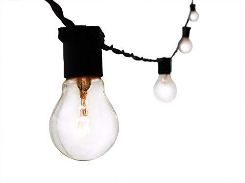 Varal De Luzes Cordão de Iluminação Gambiarra lâmpada 15M PT