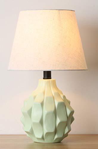 Luces de la Noche Tabla de cerámica del Dormitorio de la lámpara de la Sala de Faros Suave Pequeño Noche sección de luz E, K qiuliyin (Color : K)