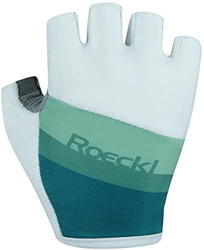 Roeckl Ticino Handschuhe Kinder White/Jade Handschuhgröße 4 2021 Fahrradhandschuhe