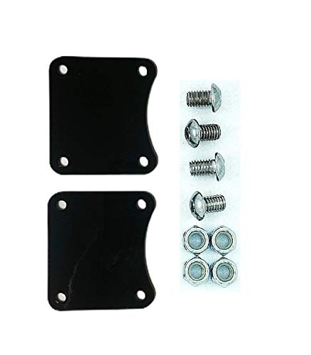 Fender Lift Spacer/Riser Brackets for 23' Wheel Upgrade on 2014 and Newer Touring Harley Davidson.Allows the use of the Stock Fender with a 23' Wheel Upgrade. MADE IN THE USA!