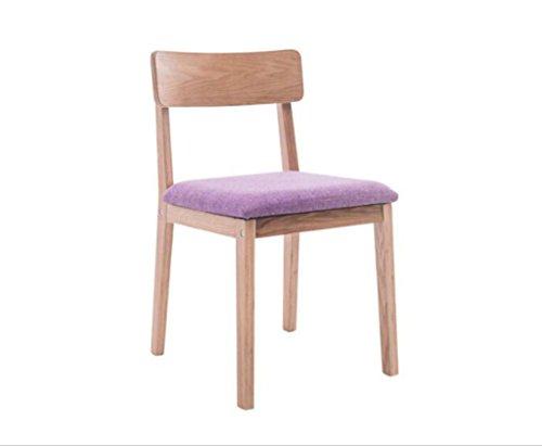 Tabouret en bois Chaises de salle à manger simple maison à manger chaise nordique nordique chaise de café (Couleur : #3)
