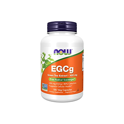 NOW Supplements, EGCg Green Tea Extract 400 mg,...
