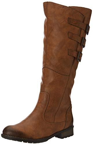 Remonte Damen R3370 Hohe Stiefel, Braun (Chestnut 22), 43 EU