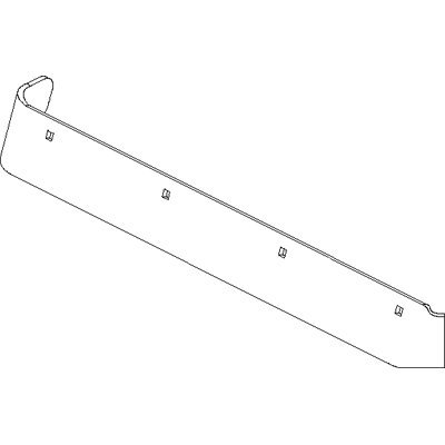For Sale! Boss Part # BAR18145-03 - Cutting Edge Formed Half Passenger Side 8ft 2in DXT