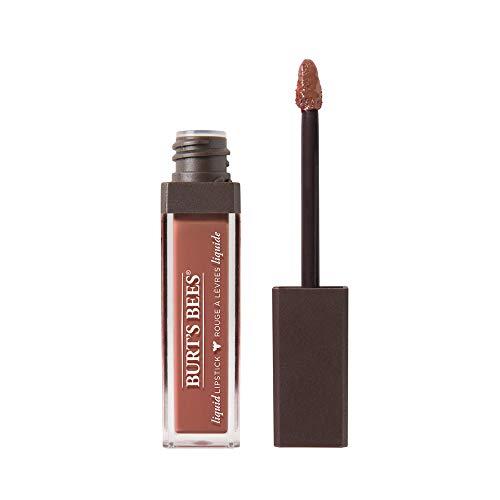 Burt's Bees Liquid Lipstick, 100% Natürliche Pflege mit intensiver Farbe, Sandy Seas - 1 Tube, 5.95 g