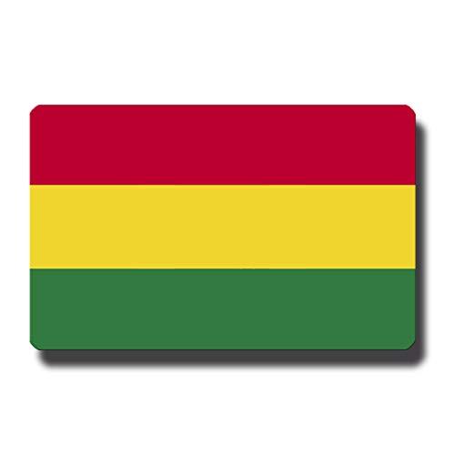 Kühlschrankmagnet Flagge Bolivien - 85x55 mm - Metall Magnet mit Motiv Länderflagge