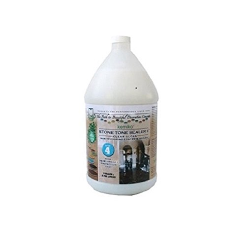 Kemiko Stone Tone Sealer II - Clear Gloss 1 Gallon / 3.785 Liters