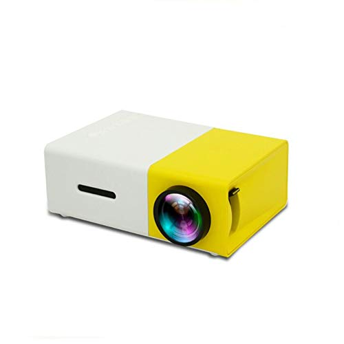 Mini Proyector Portátil Proyector LCD HDMI USB AV SD 400-600 Lumen Teatro Niños Educación Proyector Beamer