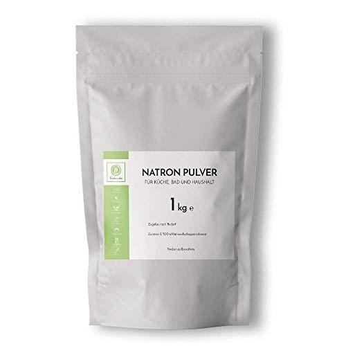 Fuduu.de - Natron Pulver E500 ii Natriumhydrogencarbonat NaHCO3 Natriumcarbonat - 1kg