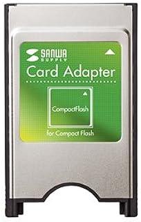 SANWA SUPPLY コンパクトフラッシュアダプタ ADR-CFN