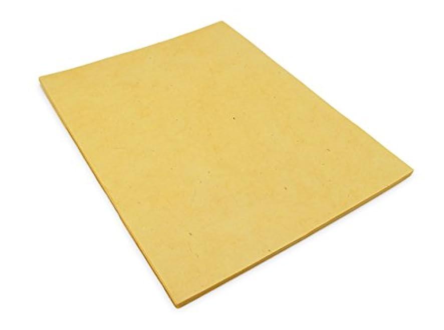 Handmade Lokta Laser and Inkjet Computer Paper (100 Sheets, Saffron)