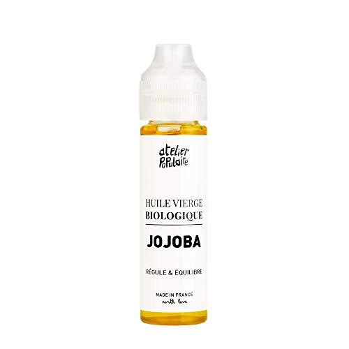 Huile vierge biologique de Jojoba 60 ml