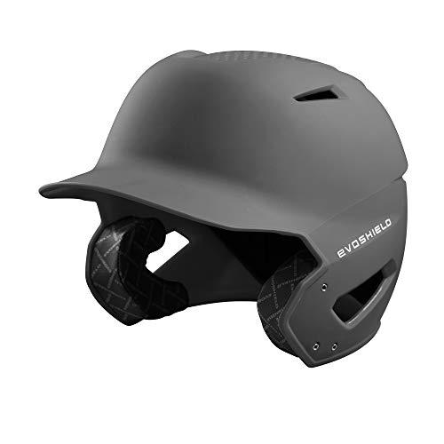 EvoShield XVT Batting Helmet, Charcoal - Small/Medium