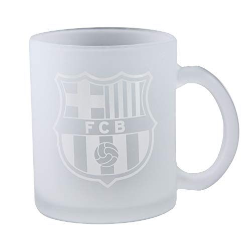 FOCO Barcelona FC Frosted Club Wappen Tasse (313 ml)
