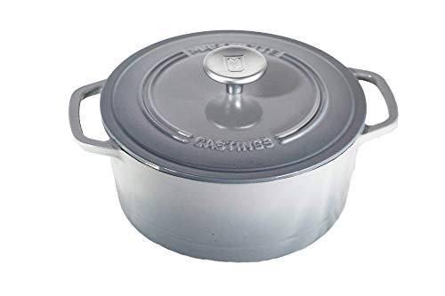 4 qt. Cast Iron Dutch Oven (Petoskey Gray)