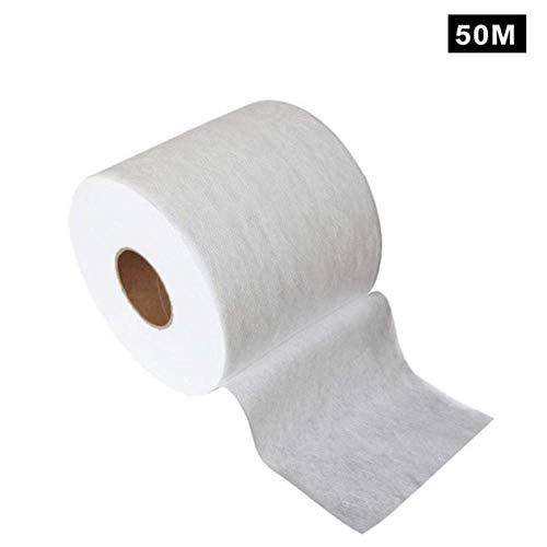 ASDAF Tissu filtrant en Tissu Non tissé meltblown matériau Tissu Original jetable Filtre intermédiaire en Tissu Bricolage,50m,Chine