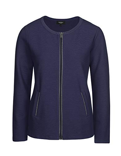 Bexleys Woman by Adler Mode Damen Shirt-Jacke Marineblau L