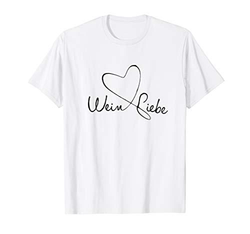 Wein Liebe T-Shirt
