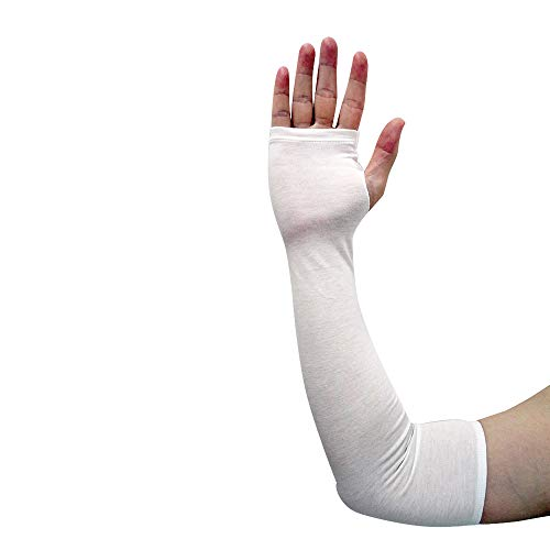 Edenswear Zinc-Infused Sleeves Bandage for Adults with Eczema - Wet Wrap Therapy (L)