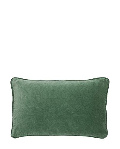 Bungalow - Kissenbezug - Kissenhülle - Kissen - Velvet Ivy - grün - Baumwolle - 33 x 50 cm