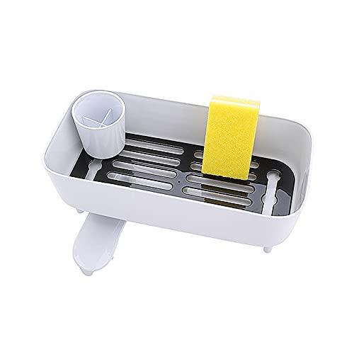 LXDZXY Rejilla para secar vajilla y Plato de Drenaje, Rejilla para biberón, Plato de Cocina, vajilla, Rejilla para secar, Bandeja, vajilla, Filtro de Agua,Blanco