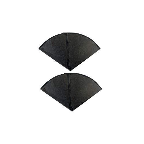Filtrar Queen Conos de filtro de carbón activado paquete de 2 filtros de olor por GoodVac (2)