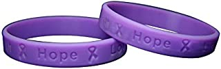 Fundraising For A Cause 50 Testicular Cancer Awareness Silicone Bracelets - Adult Size (Wholesale Pack - 50 Bracelets)