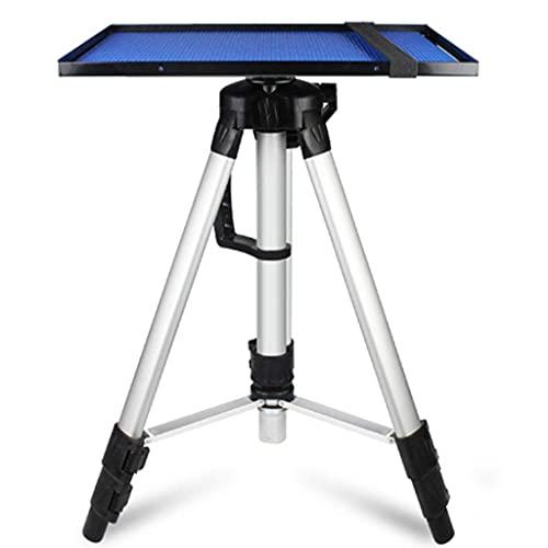 FGVBC Soporte para proyector Soporte de Suelo Ajustable Trípode de proyección de Escritorio Carga de 10 kg Estructura de aleación de Aluminio Ajuste de Altura de Bandeja de Varios tamaños (16,9-45,2