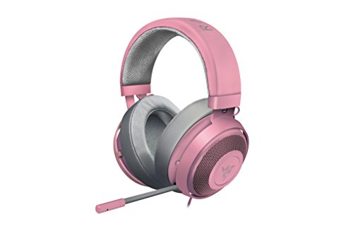 Razer Kraken Pro V2: Lightweight Aluminum Headband - Retractable Mic - In-Line Remote - Gaming...