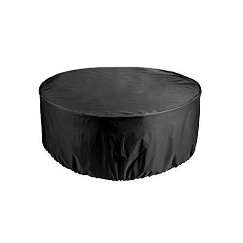 Cubierta De Mesa De Jardín, Cubierta De Mesa De Patio De Forma Redonda, Impermeable, Anti-UV, Cubierta Mejorada De Ratán Para Muebles De Patio Resistente Al Desgarro (varios Tamaños)(Size:227*100CM)