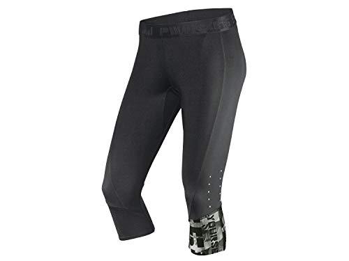 Crivit Pro Damen Funktionshose Sporthose Fitnesshose Workout Capri L